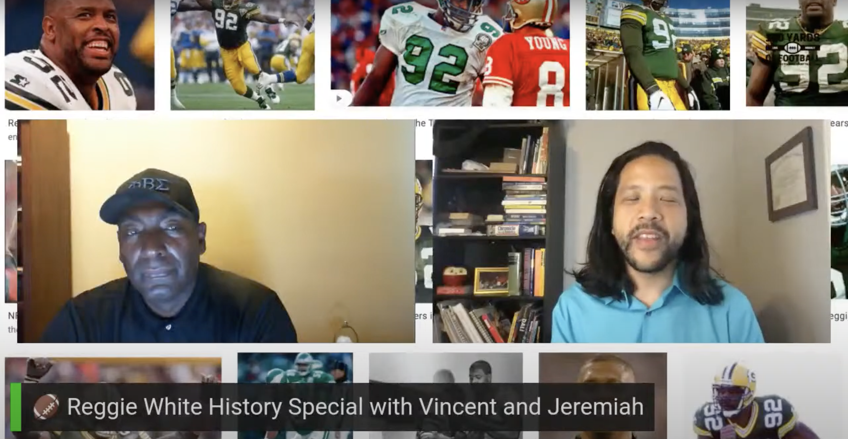 🏈 Reggie White History Special with Vincent and Jeremiah